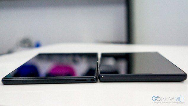 Фаблеты Sony Xperia Z Ultra vs Xperia T2 Ultra - сравнение дисплеев и габаритов