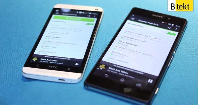 Звук Sony Xperia Z2 и HTC One - сравнение динамиков