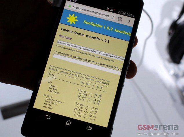 Смартфон Sony Xperia Z2 протестировали в AnTuTu 4, Geekbench 3, GFXBench, SunSpider - результаты
