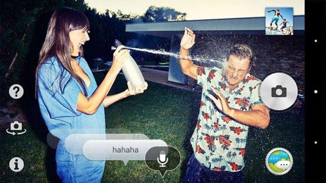 Приложение для камеры Voice balloon photo - добавляем речь на фотографии Sony Xperia