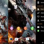 Darksiders v.2 Theme – уникальная тема на Sony Xperia