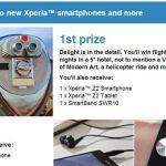 Невероятный розыгрыш от Sony – 51 смартфон Xperia Z2 и поездка в Нью-Йорк