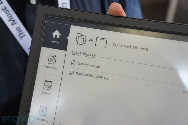"""гибкая электронная бумага Sony Е-Ink 13.3"""" А4"""