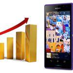 Sony Mobile вырвались на второе место по продажам в Индии обойдя Apple
