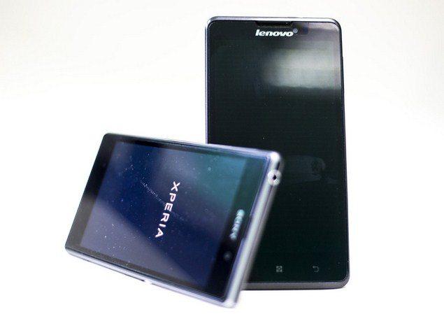 Сравнение Sony Xperia Z1 и Lenovo P780