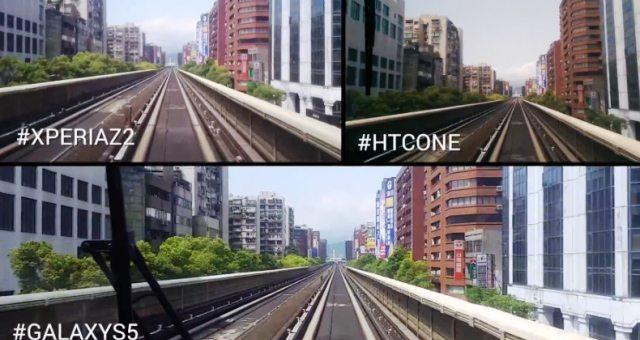 Сравнение стабилизации изображения на Sony Xperia Z2, Galaxy S5 и HTC One на видео