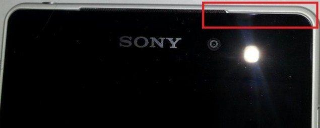 Возможные дефекты в Sony Xperia Z2 на фото