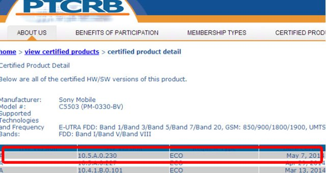 Прошла сертификацию обнова прошивки Android 4.4.2 KitKat 10.5.A.0.230 для Xperia Z, ZL, ZR, Tablet Z