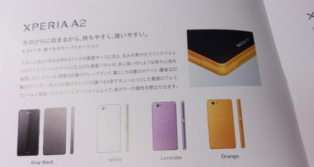 Sony Xperia A2 - стоит ли ждать скорого представления Xperia Z2 Compact