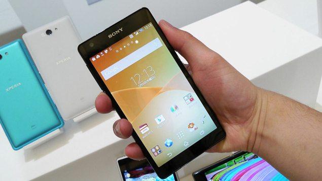 Новый смартфон Sony Xperia ZL2 (SOL25) - дизайн, фото в руках