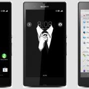 GentleMan – тема для стильных мужчин для Sony Xperia Z2, Z1, Compact, Z, Ultra, C, M, Tablet, ZL, ZR, SP