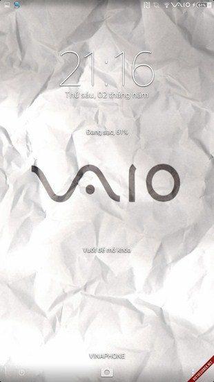 Тема Sony Vaio для Sony Xperia Z2, Z1, Compact, Z, Ultra, C, M, Tablet, ZL, ZR, SP