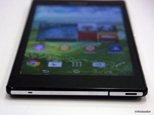 Sony Xperia T3 - фото и видео смартфона в руках, обхор и основные характеристики