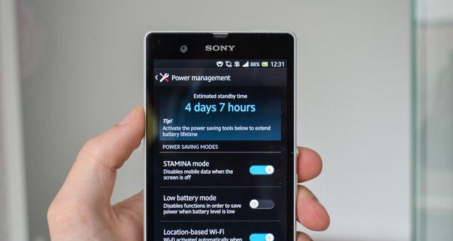 Решаем проблему быстрой разрядки Sony Xperia Z с Android KitKat