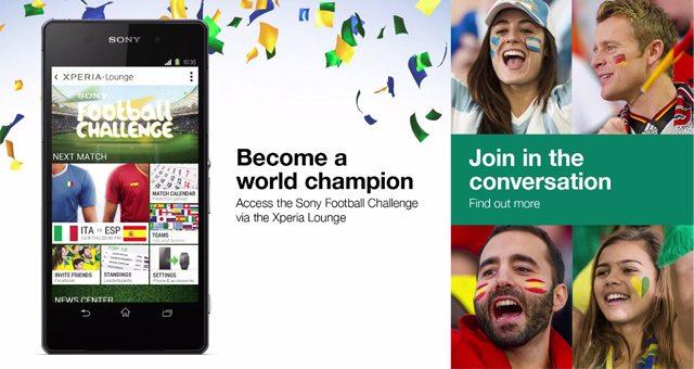 Sony Xperia Z2 - официальный смартфон Чемпионата мира по футболу ФИФА 2014