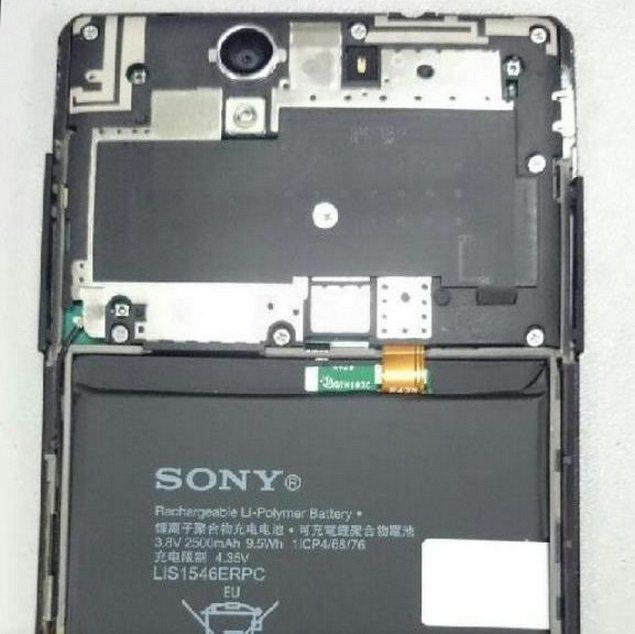 Selfie смартфон от Sony - фото новинки с фронтальной камерой и вспышкой