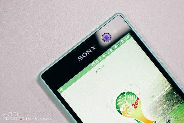 Реальные фото Sony Xperia C3 - фотографии в руках и не только