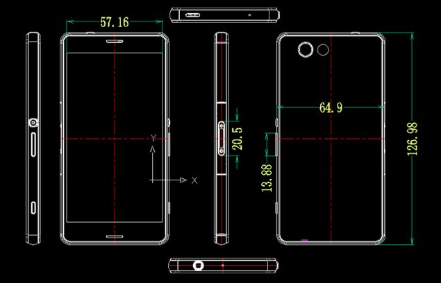 Sony-Xperia-Z3-Compact-razmery