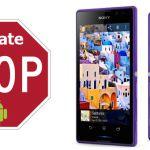 Прекращена поддержка обновлений системы для Sony Xperia C