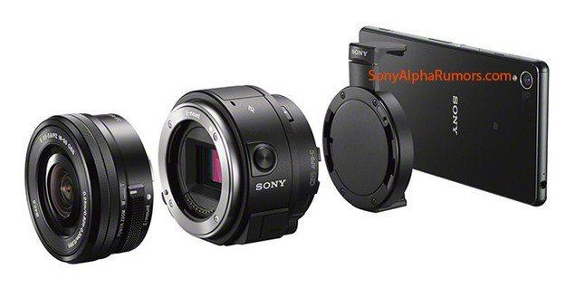 Объектив Sony QX1 - новое слово в мобильной фотографии