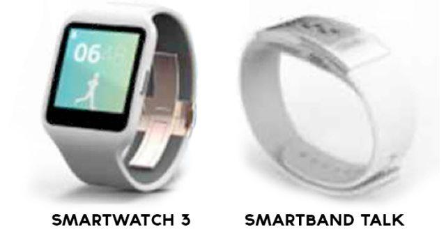 Часы Sony SmartWatch 3 и фитнес-трекер SmartBand Talk