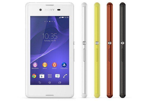 Бюджетный смартфон Sony Xperia E3 - характеристики и фото