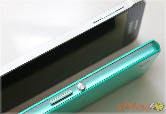 Фото сравнение Sony Xperia Z3 Compact и Samsung Galaxy Alpha: габариты, дизайн, экраны