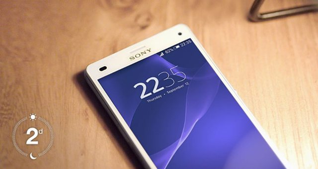 Sony Xperia Z3 Compact бьет рекорды по времени продолжительности работы от аккумулятора
