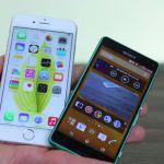 Sony Xperia Z3 и Xperia Z3 Compact vs. iPhone 6 – видео сравнение