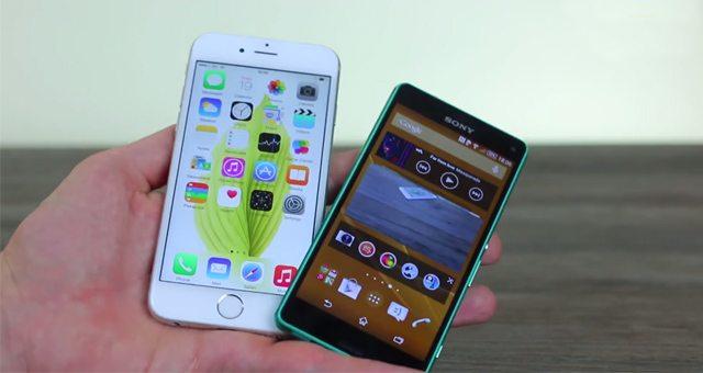 Сравнение Sony Xperia Z3 Compact и iPhone 6 - видео обзор