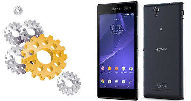 Смартфон для селфи Sony Xperia C3 - технические характеристики подробно