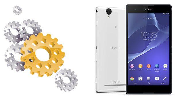 Подробные технические характеристики фаблета Sony Xperia T2 Ultra - полный список