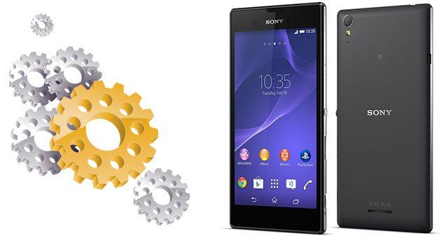 Подробные технические характеристики Sony Xperia T3