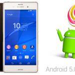 Android 5 Lollipop получит вся линейка Xperia Z