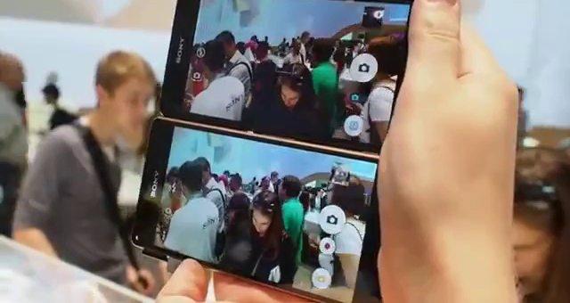 Sony Xperia Z3 и Xperia Z2 - сравниваем качество записи видео на камеру