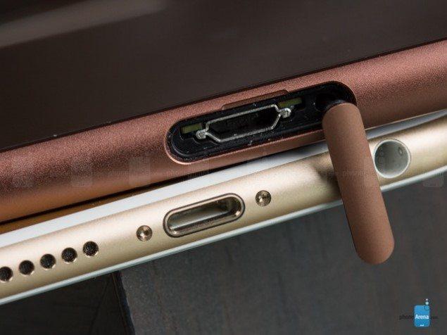 Дизайн корпуса Sony Xperia Z3 и iPhone 6 - фото сравнение