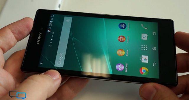 Видео обзоры смартфона Sony Xperia T3