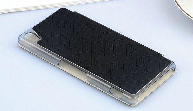 Красивый кожаный чехол для Сони Иксперия Z3 - стильный аксессуар по разумной цене