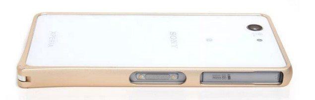 Алюминиевый разноцветные бампер для Sony Xperia Z3 Compact