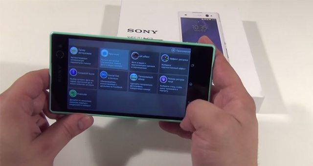 Несколько содержательных видео обзоров Sony Xperia C3