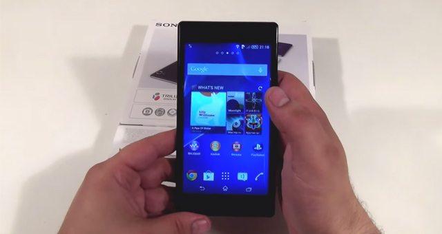 Несколько содержательных видео обзоров Sony Xperia T3
