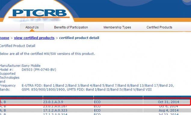 Сертифицирована прошивка Android 4.4.4 (23.0.1.A.3.9) на Sony Xperia Z2 и Xperia Z2 Tablet