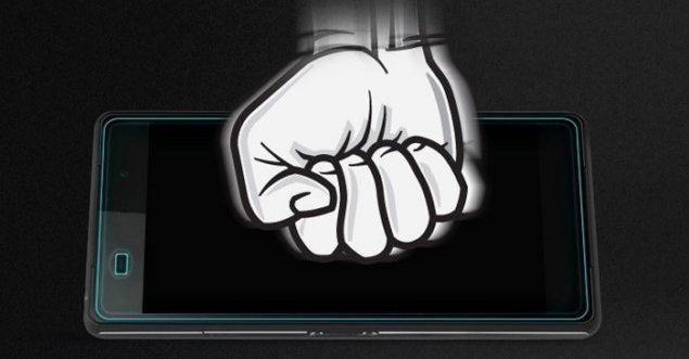Пленка-стекло для защиты экрана  Sony Xperia Z2