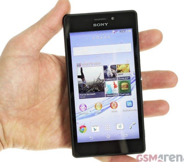 Подробный обзор смартфона Sony Xperia M2 Aqua - описание модели
