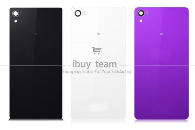 Замена стекла Sony Xperia Z2 - купить заднюю крышку