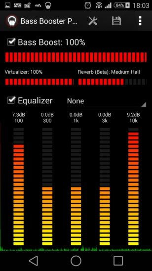 Как просто увеличить басы на Sony Xperia - программа Bass Booster