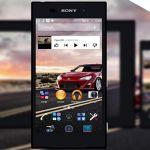 Автомобиль – новая тема для Sony Xperia Z2, Z1 и других
