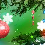 Ёлка 3D – новогодние живые обои на Sony Xperia