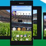 Football Theme – футбольная тема на Sony Xperia