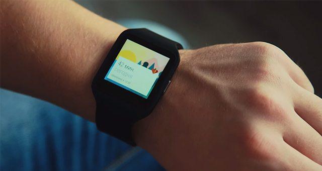 Часы Sony SmartWatch 3 - небольшой обзор на видео